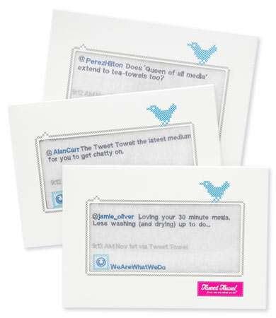 Twitterific Hand Cloths