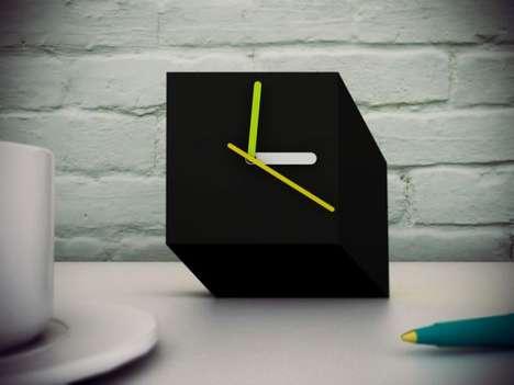 Cubist Desk Clocks