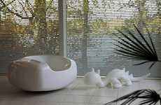 Cleanser-Shaped Furniture