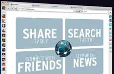 Social Media Web Browsers - The RockMelt Web Browser Puts Friends First