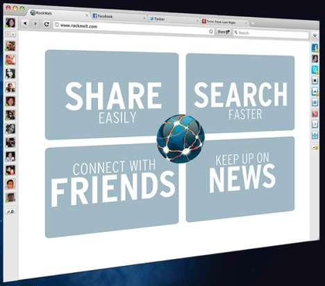 Social Media Web Browsers