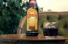 Celebratory Cocktail Campaigns - This Kahlua Commercial Celebrates its Mexican Heritage
