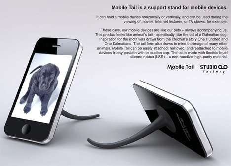 Wagging Phone Stands