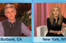 Split-Screen Advocates - Gay Bashing Gets a Beat Down by Madonna on Ellen