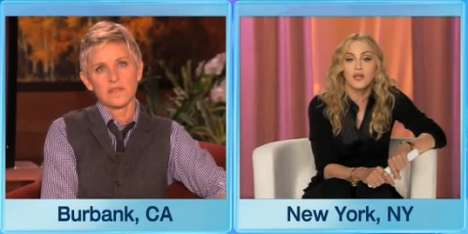 Gay Bashing Gets a Beat Down by Madonna on Ellen