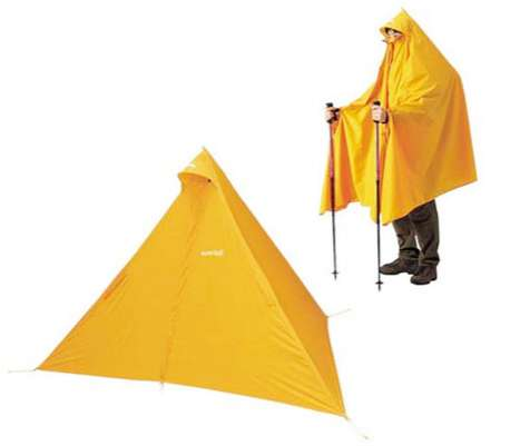 Protective Poncho Shelters