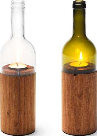 glass bottle lighting outdoor wine bottle votives 29 recycled lighting designs