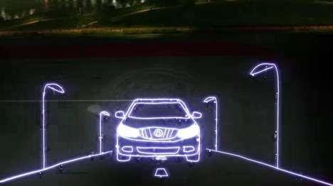 Luxury Light-Drawn Autos