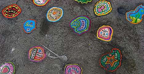 Chewing Gum Canvases