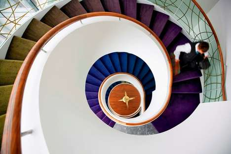 Seashell Staircases - The Cliff House Hotel by Garry Cohn for Douglas Wallace