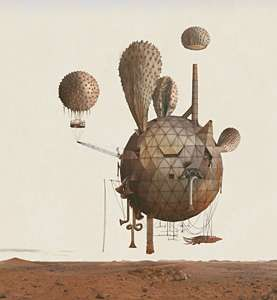 Mars Exploration Art