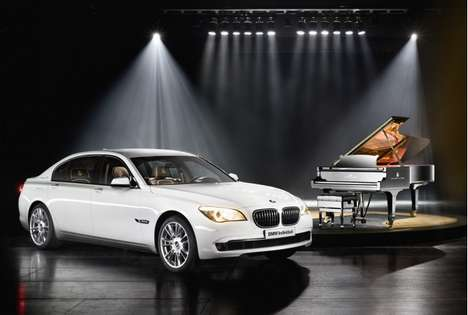 Instrument-Inspired Luxury Sedans