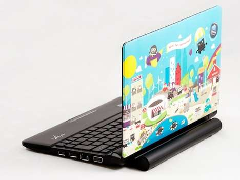 Colorful Toon Netbooks