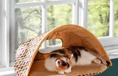 Warming Pet Perches - Heated Cat Window Seat Keeps Your Kitty Cozy and Toasty