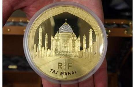 Diamind-Bearing Coins