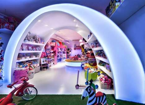 Fantasy-Filled Stores - The Pilar's Story Toyshop is Made for Children