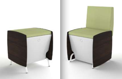 Chair-Stool Convertibles