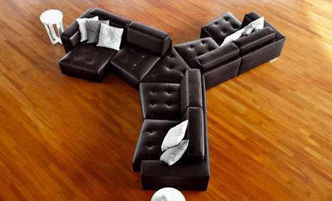 Pinwheel Component Couches