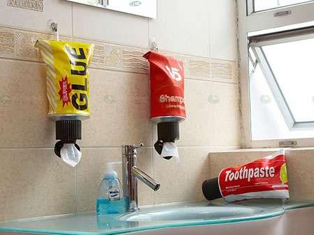 Discrete Toilet Paper Dispensers