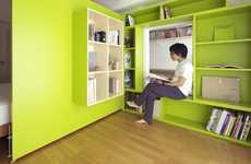 Minimalist Sliding Spaces - Yuko Shibata's Mobile Walls Facilitate Small Apartments