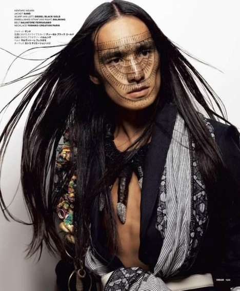 Wild Warrior Pictorials - Koichiro Doi Shoots the Tokyo Tribe VMAN Editorial