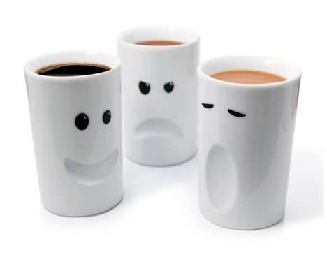 Funny-Faced Cups