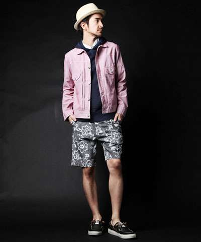 Pink Denim Menswear - The Colorful 'Deluxe' Spring/Summer Collection