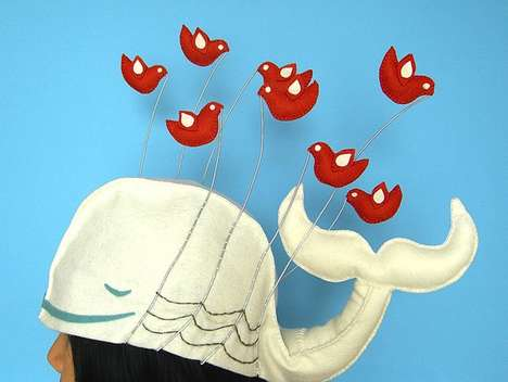 Social Media Caps - The 'Twitter is Over Capacity' Hat Makes the 'Fail Whale' Fashionable