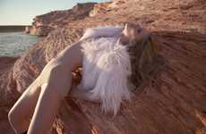 Blazing Sahara Desert Shoots - Romina Lanaro Shows Scorching Hot Styles Within this Sizzling Spread