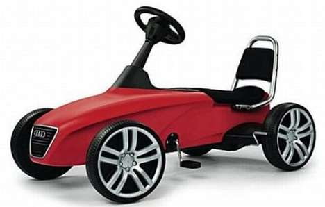 Child Supercars - The Selfridges Audi Kids Sports Car is for the Luxury-Loving Child