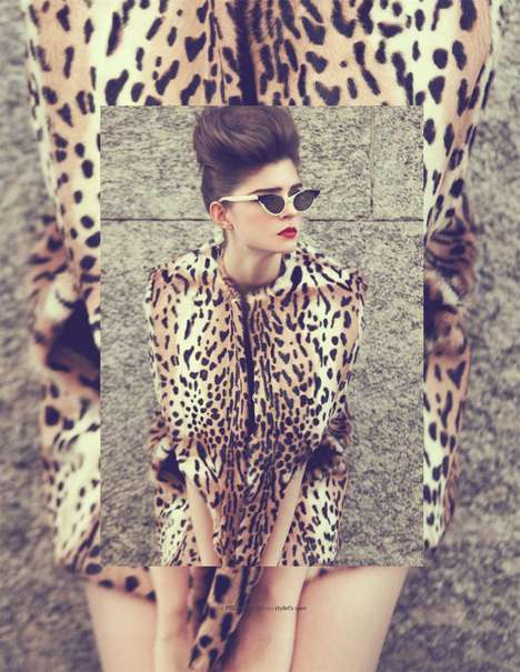 Vintage Animal Fashion