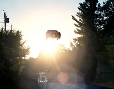 Flying Car Photography