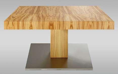 Shifty One-Legged Tables