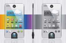Power-Saving Transparent Phones - The 'Second Life Mobile Phone' Dulls as it Drains