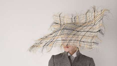 Frayed Fabric Hats