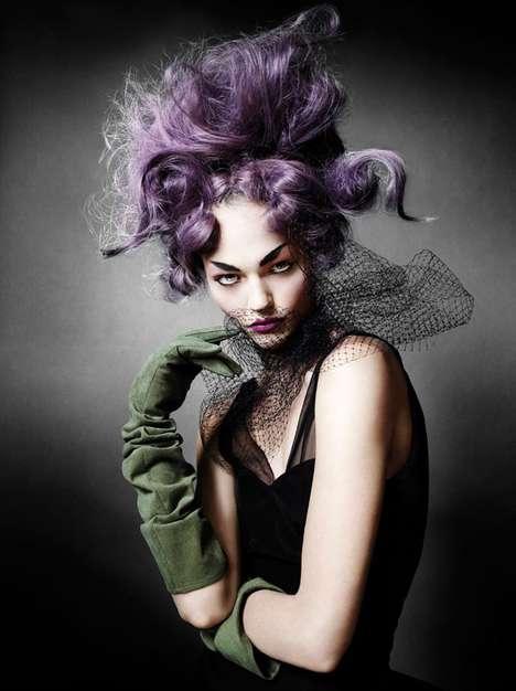 Disheveled Purple 'Dos