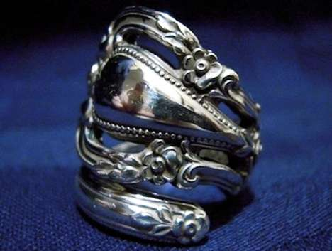 Antique Silverware Jewelery