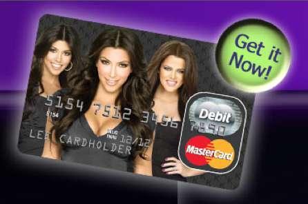 Celebrity Credit Cards