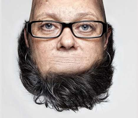 "Flipped Facial Shoots - The Thorsten Schmidtkord ""Head on Top"" Photo Series"