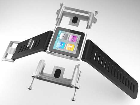 Futuristic MP3 Watches