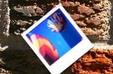 Fabulous Photograph Accessories - Polaroid-Shaped Adornments by Amy Blasco Jewelry