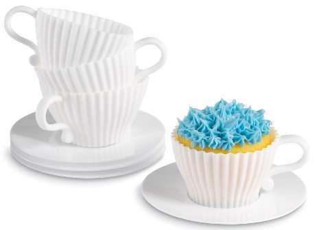 Teacup Cupcake Molds