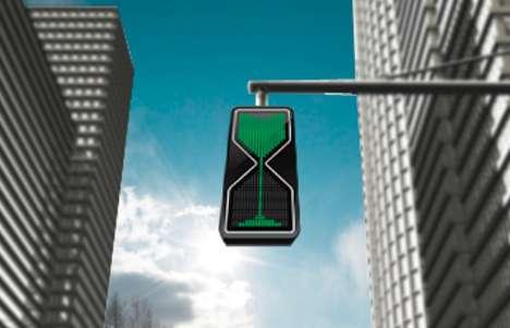Hourglass Street Signage