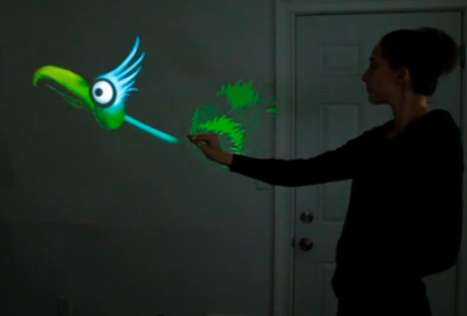 Digitally-Projected Puppeteering