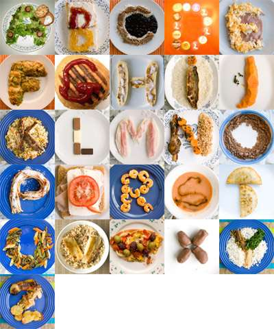 Alphabetical Foodtography