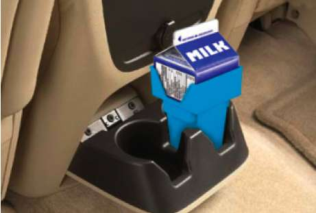 Carton-Friendly Cup Holders