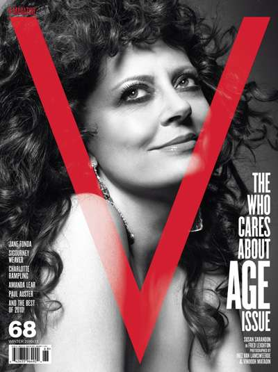 Timeless Beauty Pictorials - The V Magazine Age Issue Features Classic Starlets