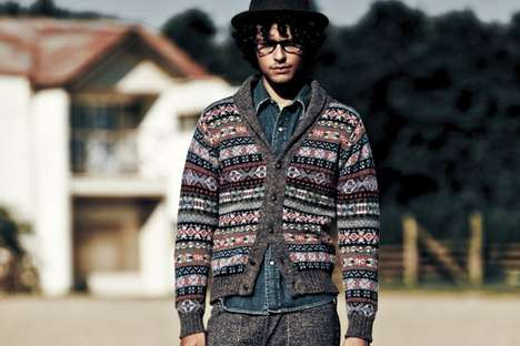 Patterned Hipster Knitwear - The Journal Standard 2010 Fall Lookbook
