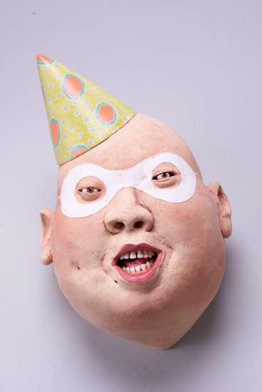 Bald-Headed Beauty Art