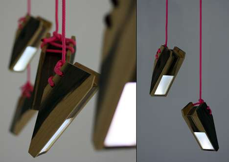 Suspended Sneaker Lamps